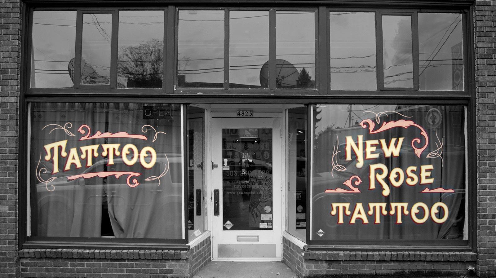 c46bb4051b66a Portland Tattoo Parlor - New Rose Tattoo